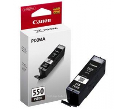 Canon PGI-550PGBK black 300str. 6496B001  (iP7250/MG6450/MG6350/MX925/MG7150/MG5550)