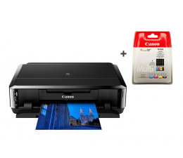 Canon PIXMA IP7250 + zestaw dodatkowych 4 tuszów  (6219B006AA + 6509B009)