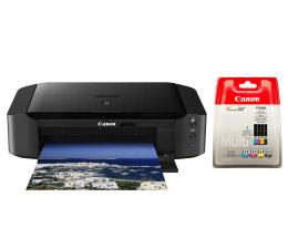 Canon Pixma iP8750 + zestaw dodatkowych 4 tuszów  (8746B006AA+ 6509B009)