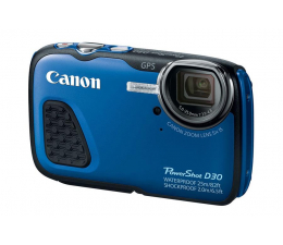 Canon PowerShot D30 niebieski (9337B011AA)