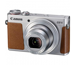 Canon PowerShot G9X srebrny  (0924C002AA)