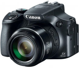 Canon PowerShot SX60 HS czarny (9543B002AA)