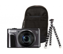 Canon PowerShot SX720 HS travel kit czarny (1070C018AA)
