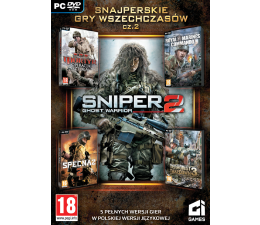CI Games Sniper Ghost Warrior 2 +4 gry