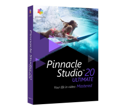 Corel Pinnacle Studio 20 Ultimate PL/ML DVD BOX (PNST20ULMLEU)