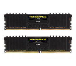 Corsair 16GB 3200MHz Vengeance LPX Black CL16 (2x8GB) (CMK16GX4M2B3200C16)