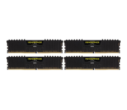 Corsair 32GB 2666MHz Vengeance LPX Black CL16 (4x8GB) (CMK32GX4M4A2666C16)