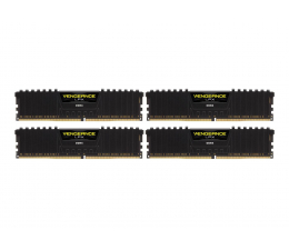 Corsair 32GB 3000MHz Vengeance LPX Black CL15 (4x8GB) (CMK32GX4M4C3000C15)