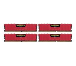 Corsair 32GB 3466MHz Vengeance LPX Red CL16 (4x8192) (CMK32GX4M4B3466C16R)