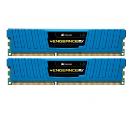 Corsair 8GB 1600MHz Vengeance LP XMP Blue CL9 (2x4GB) (CML8GX3M2A1600C9B)