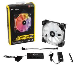 Corsair HD120 RGB LED 3x120mm + kontroler (CO-9050067-WW)