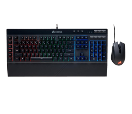 Corsair K55 Gaming Keyboard & Harpoon Mouse Combo (RGB) (CH-9206115-NA  )