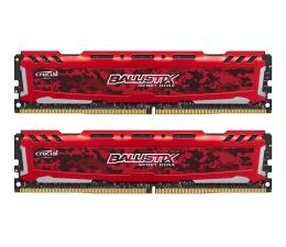 Crucial 16GB 2400MHz Ballistix Sport LT Red CL16 (2x8GB) (BLS2C8G4D240FSE)