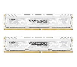 Crucial 16GB 2666MHz Ballistix Sport White CL16 (2x8192) (BLS2C8G4D26BFSC)