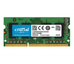 Crucial 8GB 1600MHz CL11 DDR3L 1.35V  (CT102464BF160B)
