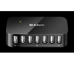 D-Link DUB-H7 USB 2.0 (7 portów, aktywny, zasilacz) (DUB-H7)