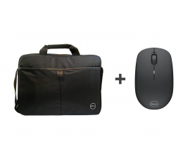 Dell Essential Topload 15.6'' + WM126 czarny (460-BBNY + 570-AAMH)