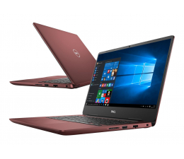 Dell Inspiron 5480 i5-8265U/8GB/480+1TB/Win10 FHD Red  (Inspiron0755V-480SSD M.2 PCie )