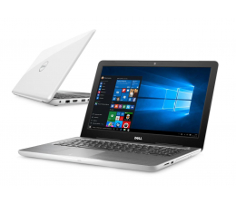 Dell Inspiron 5567 i3-6006U/8GB/256/Win10 R7 FHD biały  (Inspiron0553V-256SSD)