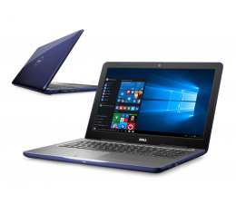 Dell Inspiron 5567 i3-6006U/8GB/256/Win10 R7 FHD nieb.  (Inspiron0554V-256SSD)