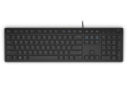 Dell KB216-B QuietKey USB (czarna) (580-ADHY)