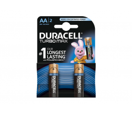Duracell  Turbo AA/LR6 2 szt (5000394106420)
