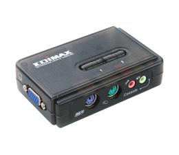 Edimax EK-PAK2 PS/2 + VGA + audio (2 komputery) (EK-PAK2)