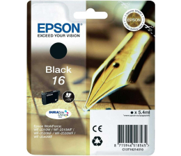 Epson T16 black 5.4ml (C13T16214010) (WorkForce WF-2010W/WF2510WF/WF2520NF/WF2530WF)