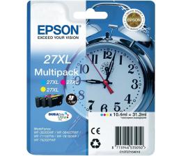 Epson T2715 zestaw tuszów CMY 3x1100str. (C13T27154010) (WF-7210DTW)