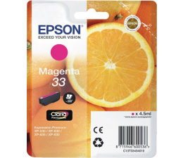 Epson T3343 magenta 300 str. (C13T3343401) (XP-530 / XP-630)