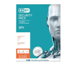 Eset  Security Pack 1PC + 1smartfon (36m.) ESD (ESP-N-3Y-2D-ESD)