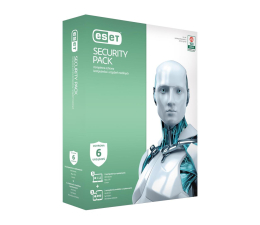 Eset Security Pack 3PC + 3smartfony (36m.) (ESP-N-3Y-6D )
