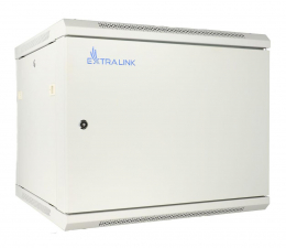 "ExtraLink Wisząca 19"" 12U 600x450mm (szara)  (EX.12974)"