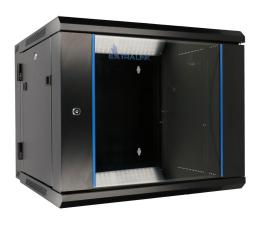 """ExtraLink Wisząca 19"""" 12U 600x600mm dwusekcyjna (czarna)  (EX.12905)"""