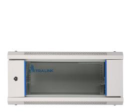 "ExtraLink Wisząca 19"" 4U 600x600mm (szara)  (EX.8543)"