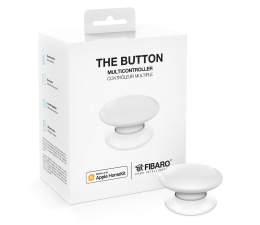 Fibaro The Button kontroler scen biały (HomeKit) (FGBHPB-101-1 Apple HomeKit)