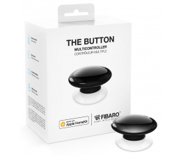 Fibaro The Button kontroler scen czarny (HomeKit) (FGBHPB-101-2 Apple HomeKit)