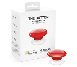 Fibaro The Button kontroler scen czerwony (HomeKit) (FGBHPB-101-3 Apple HomeKit)