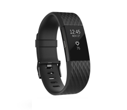 Fitbit Charge 2 HR L Black-Gunmetal (FB407GMBKL/816137020596)