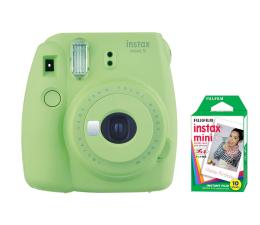 Fujifilm Instax Mini 9 zielony + wkład 10 zdjęć