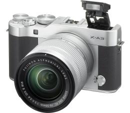 Fujifilm X-A3 srebrny + XC 16-50mm f3,5-5,6 OIS II