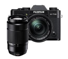 Fujifilm X-T10 + XC 16-50 + XC 50-230 czarny