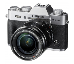 Fujifilm X-T20 18-55 mm srebrny