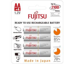 Fujitsu R6/AA białe 1900 mAh  (4 szt.) blister  (HR-3UTCEX-4B)