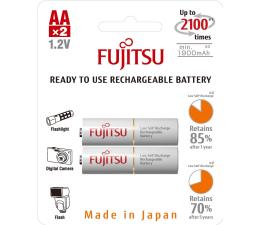 Fujitsu WHITE R6/AA 1900 mAh (2 szt) blister (HR-3UTCEX-2B)