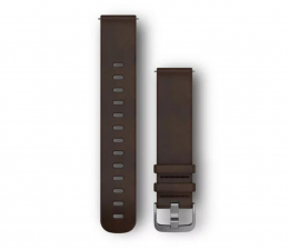 Garmin Pasek skórzany ciemno-brązowy do koperty 20mm (010-12691-01)