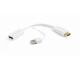 Gembird Adapter HDMI, USB - DisplayPort (DSC-HDMI-DP-W)