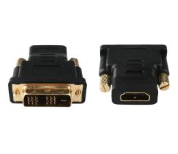 Gembird DVI - HDMI (M-F) pozłacany (A-HDMI-DVI-2)