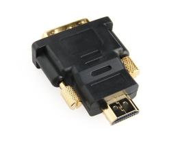 Gembird HDMI - DVI (M-M) pozłacany (A-HDMI-DVI-1)