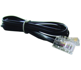 Gembird Kabel do faxu RJ-11 2 m (TC6P4C-2M)